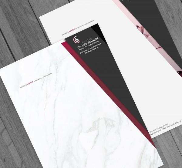 Ihr individuell gestalteter Briefbogen, DIN A4