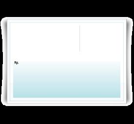 Privatrezept Ocean, DIN A6, ohne Eindruck