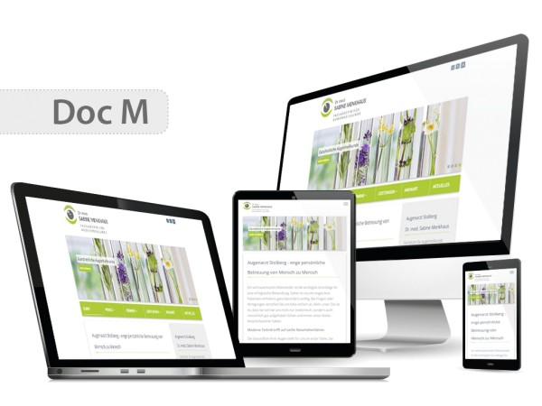 Praxishomepage DOC M