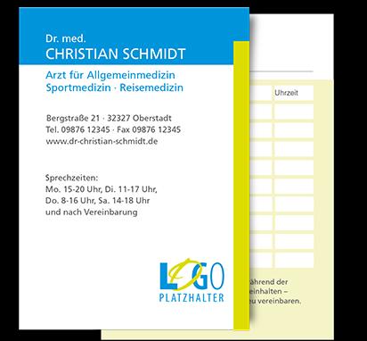 Terminkarte Berlin, DIN A7