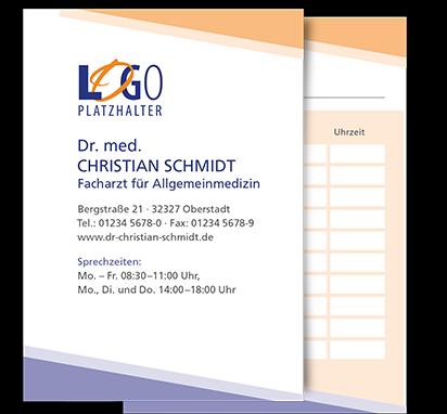 Terminkarte Hamburg, DIN A7