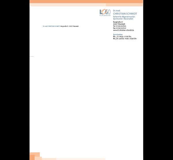 Briefbogen Denver, DIN A4