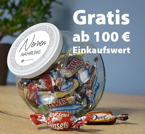 Glas Nervennahrung - Geschenkt ab 100 Euro Warenwert