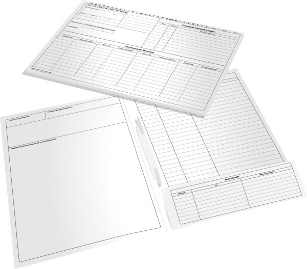 Karteimappe für Ergotherapeuten 6101E, DIN A4+