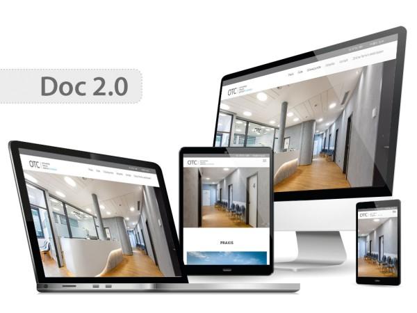 Praxishomepage DOC 2.0