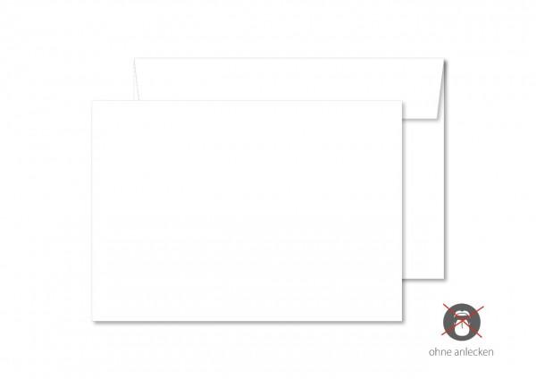 Briefumschlag, DIN C6, ohne Fenster, ohne Eindruck