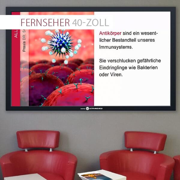 Monitor 40 Zoll (102 cm)