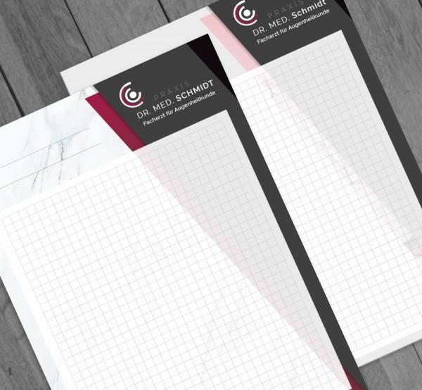 Ihr individueller Notizblock, DIN A4