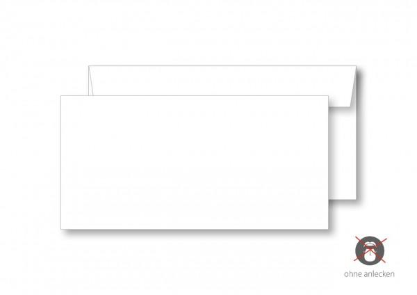 Briefumschlag, DIN lang, ohne Fenster, ohne Eindruck