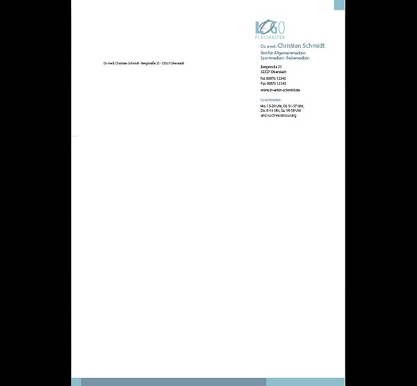 Briefbogen Rom, DIN A4