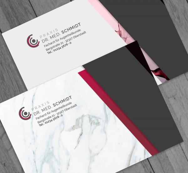 Ihr individueller Briefumschlag, DIN C6, ohne Fenster, mit Eindruck