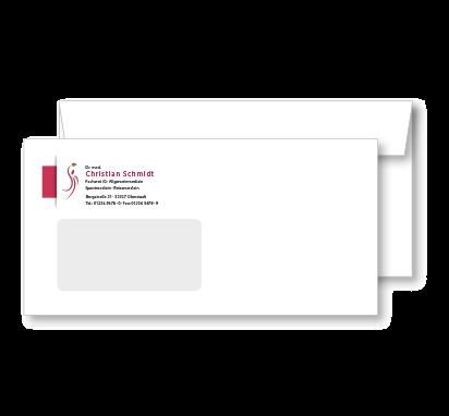 Individueller Briefumschlag