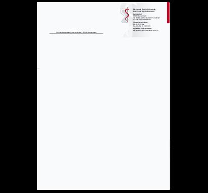 Briefbogen Parsel, DIN A4