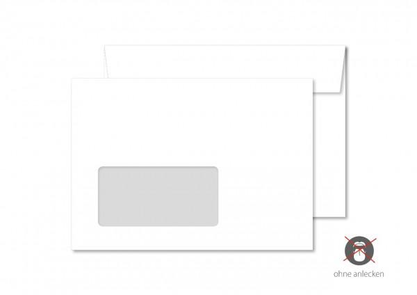 Briefumschlag, DIN C6, mit Fenster, ohne Eindruck