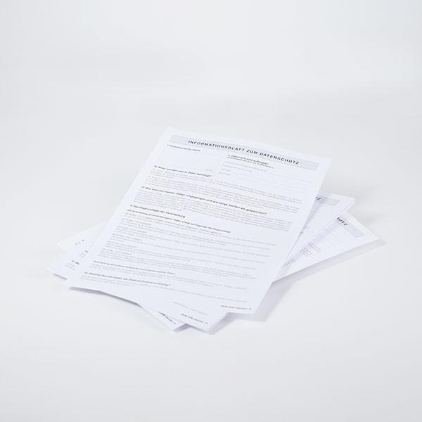 Datenschutzformulare